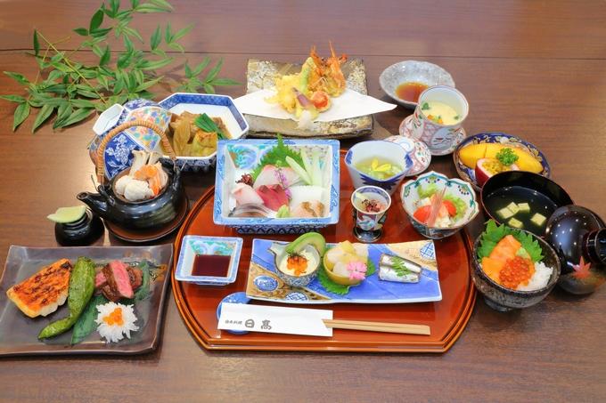 日本料理 日高「清涼会席」