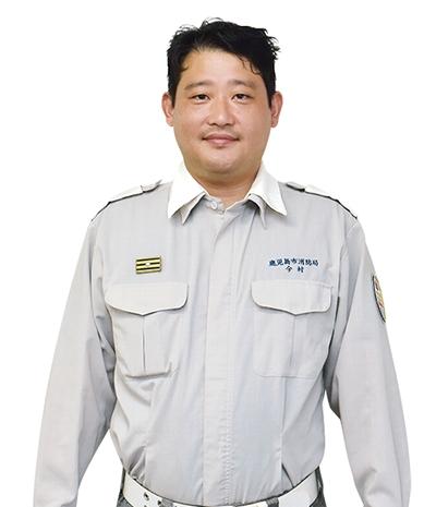 鹿児島市消防局救急課高度救急隊1部小隊長・消防司令補:今村佳太 さん