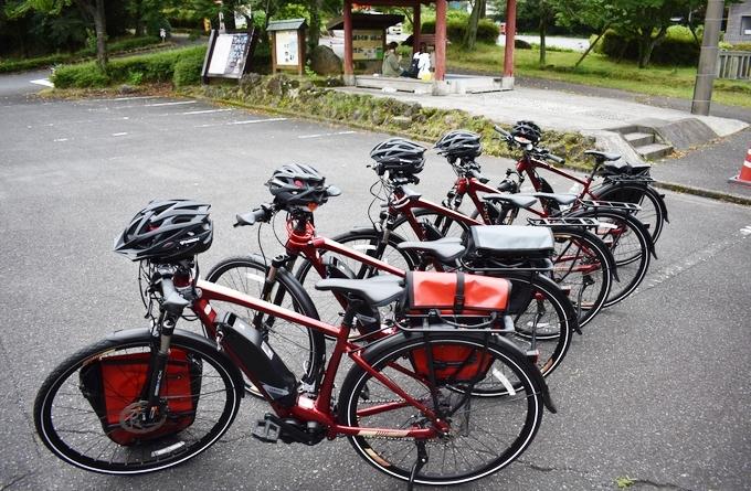 霧島市観光案内所でお世話になった電動クロスバイク「ヤマハYPJ-TC」