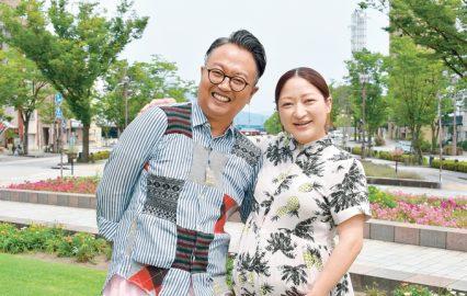 川越亮さん・ヒラノマリナさんご夫妻
