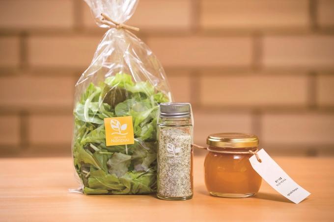 アグリカフェ南風「自社産の野菜や果物を使ったさまざまな商品」