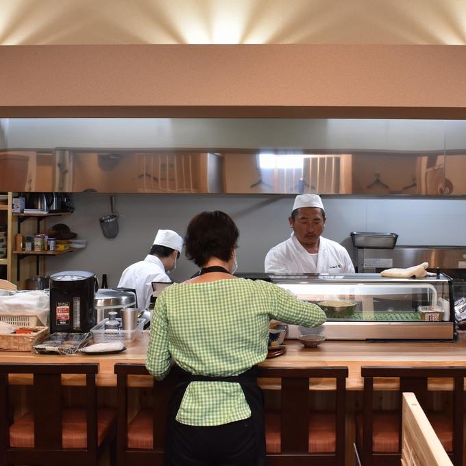 日本料理 日高「店内」