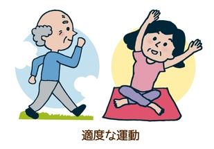 適度な運動イメージ