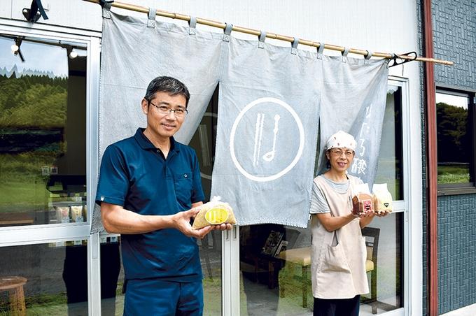 ほたる醸造「小城社長(左)」「段七奈さん」