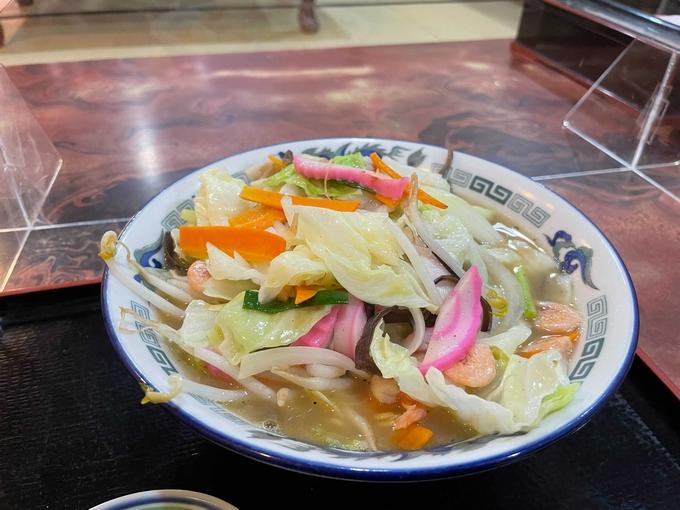 小松食堂「特製ちゃんぽん」