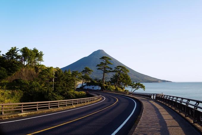 鹿児島をドライブ(イメージ)